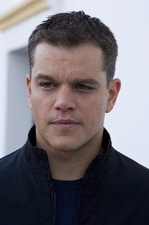Matt Damon - the actor that plays Jason Bourne