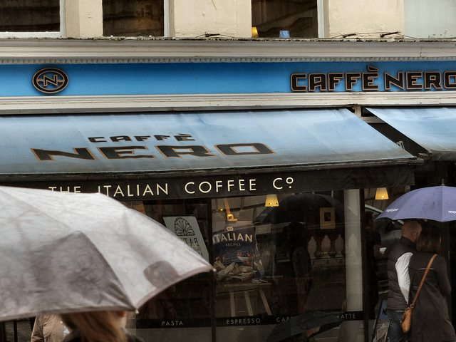 Caffè Nero's got a whole latte love