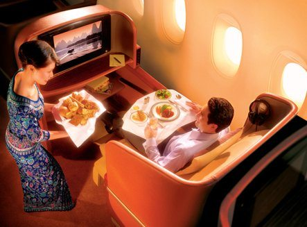 Go ahead, treat yourself to business class