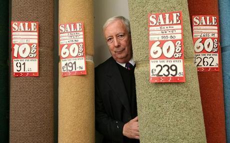 "Lord Harris warns of high street ""double dip"""