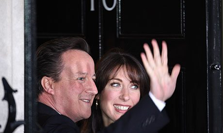 David Cameron appointed Britain's new PM