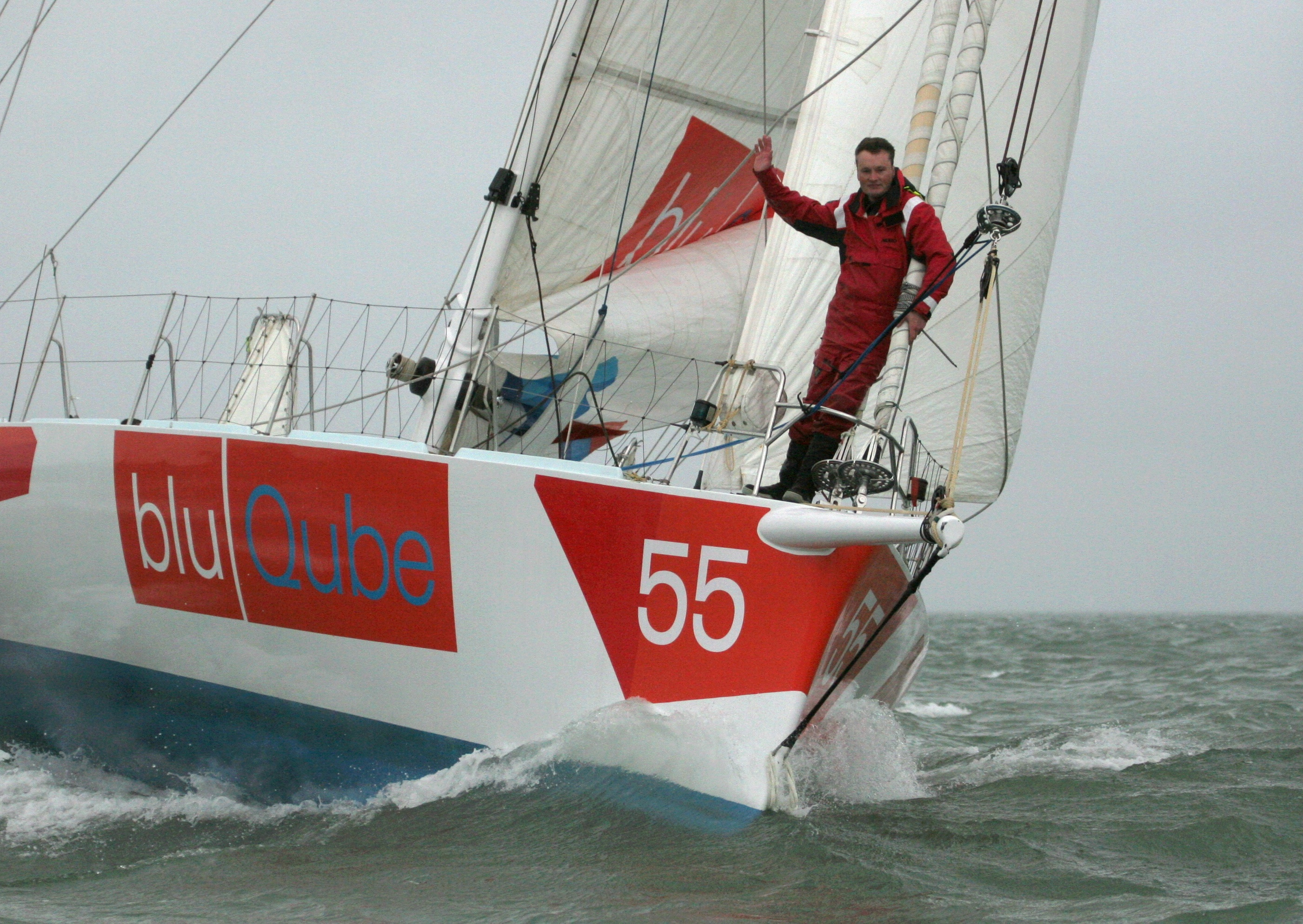 Win a sailing day with top solo sailor