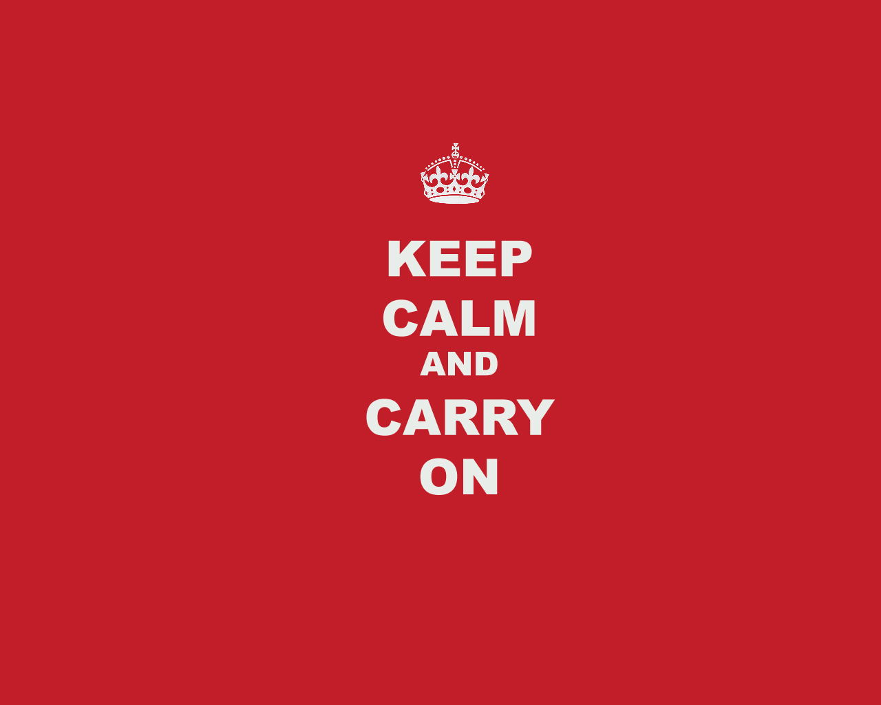 Emergency Budget: Keep calm and carry on