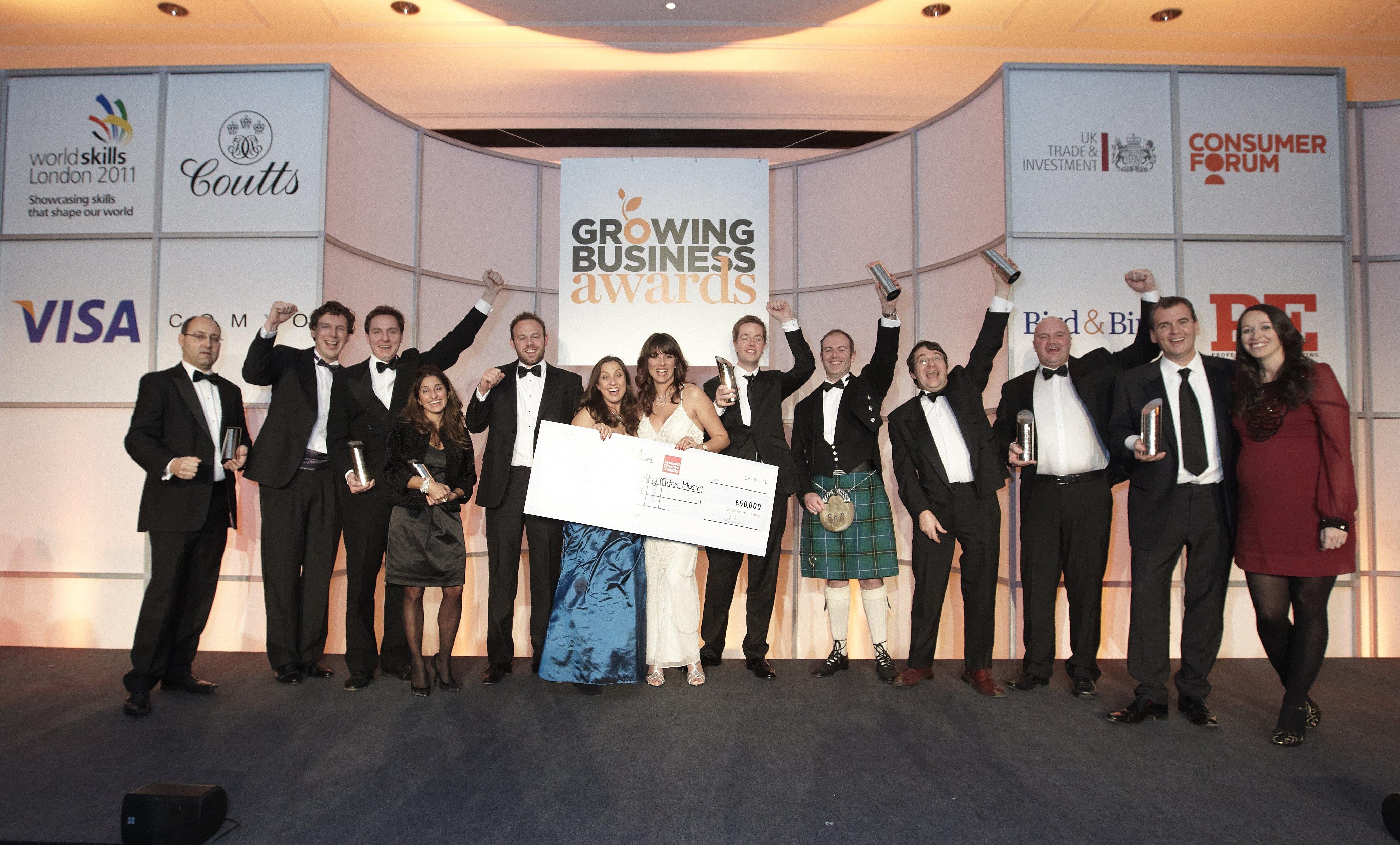 Growing Business Awards 2010
