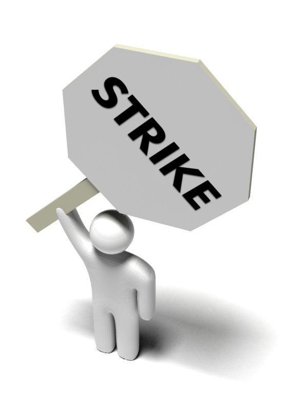 Strikes are choking recovery