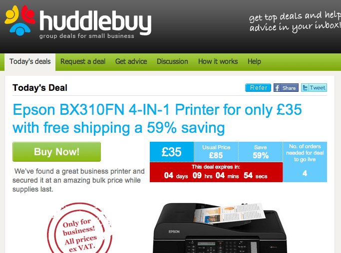 Group buying for SMEs? Meet Huddlebuy
