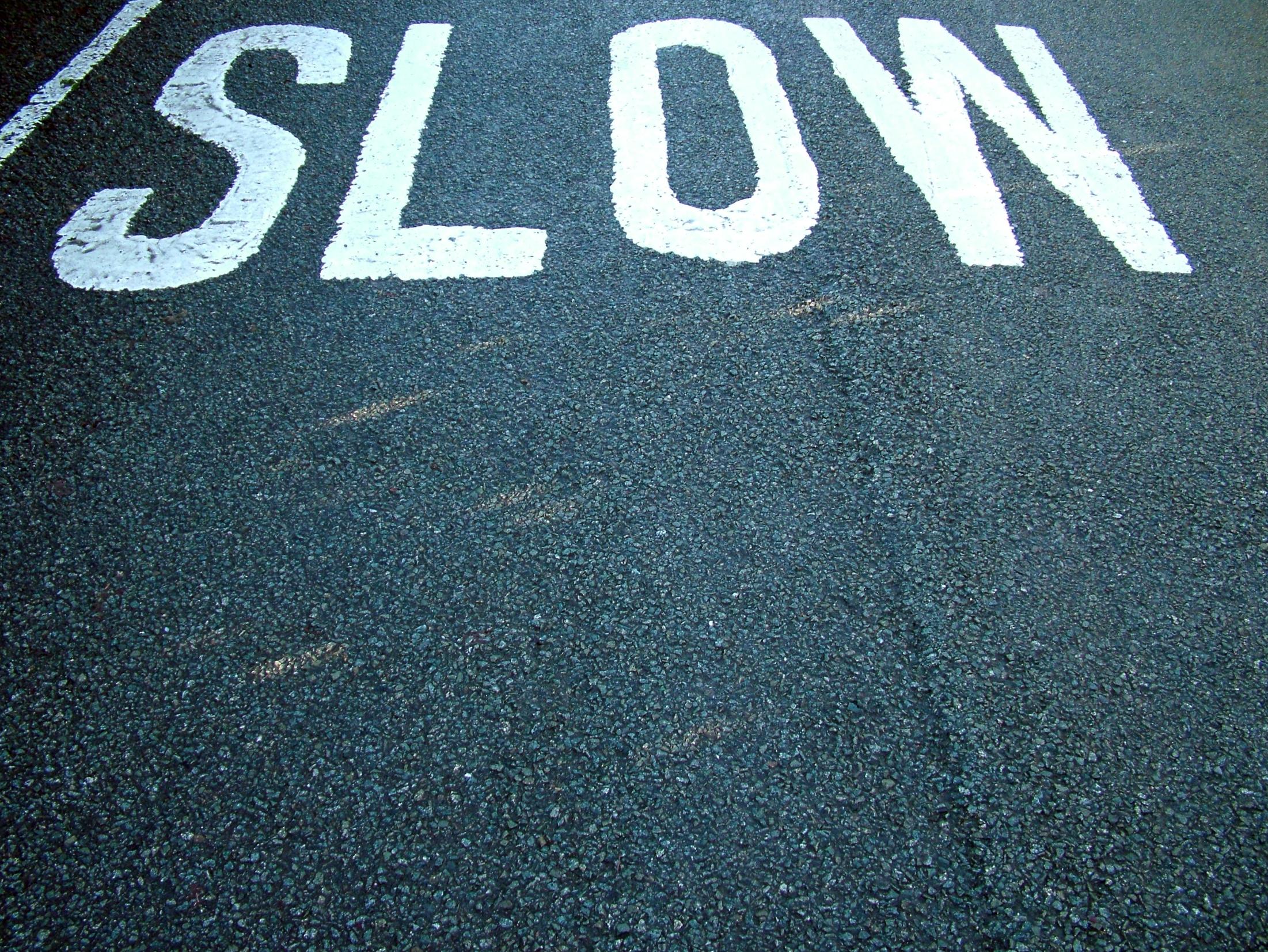 Slow economic growth in last quarter of 2010