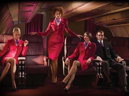 Virgin Atlantic ads: harmless fun?