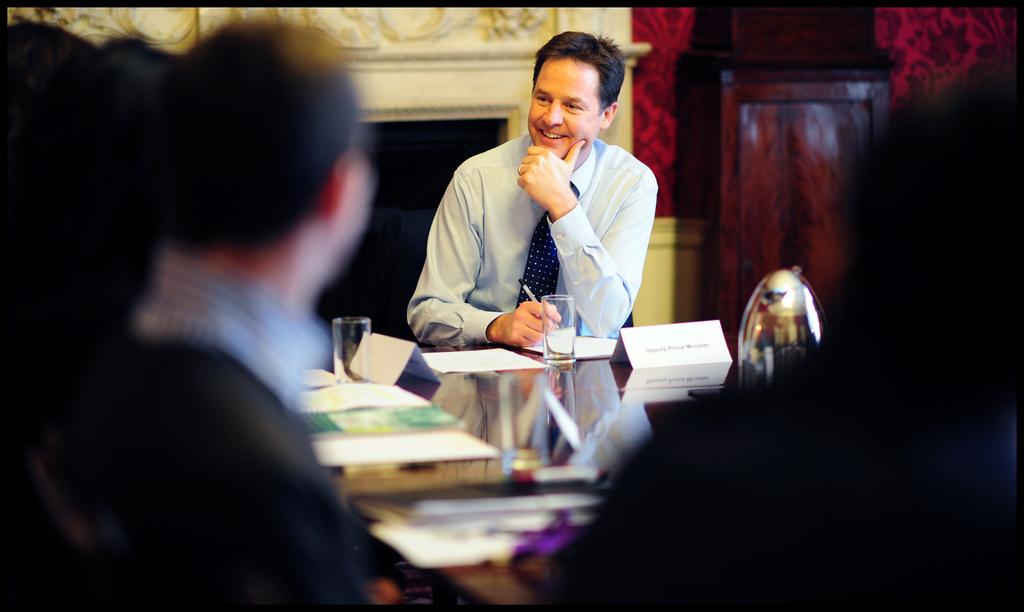 Clegg's paternity-leave plan