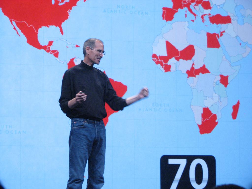 Apple's Steve Jobs steps down temporarily