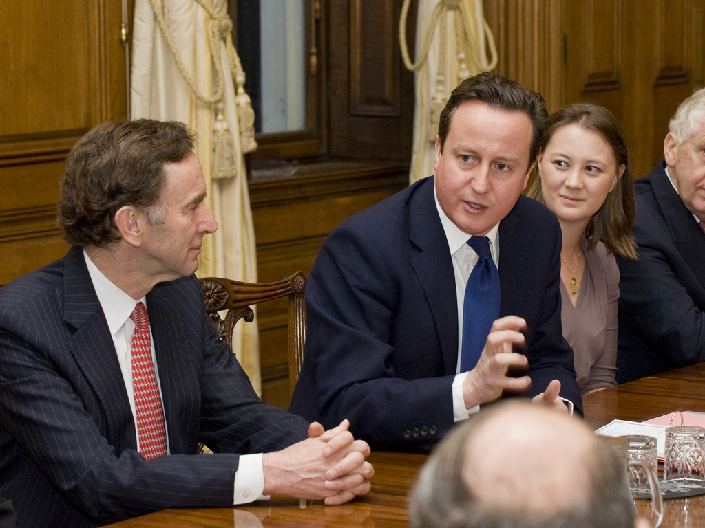 """Sell Britain"" – PM to business ambassadors"