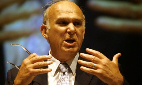 Ten-point charter for Vince Cable