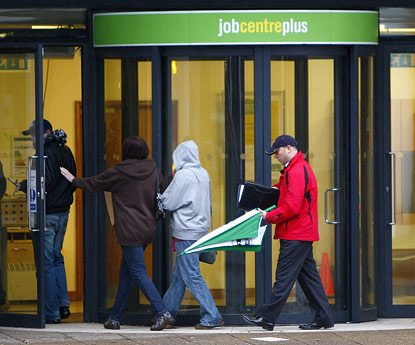 Unexpected rise in unemployment figures