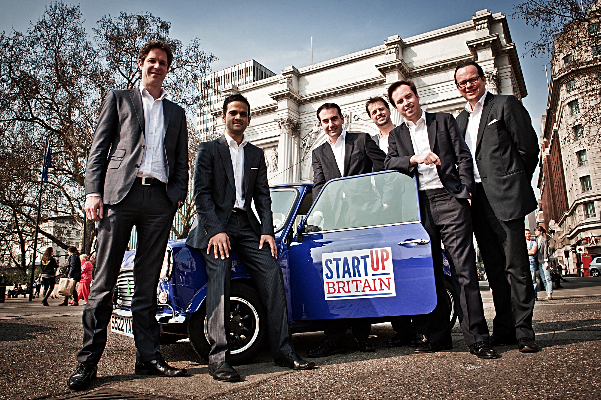 Startup Britain: entrepreneurs behind it
