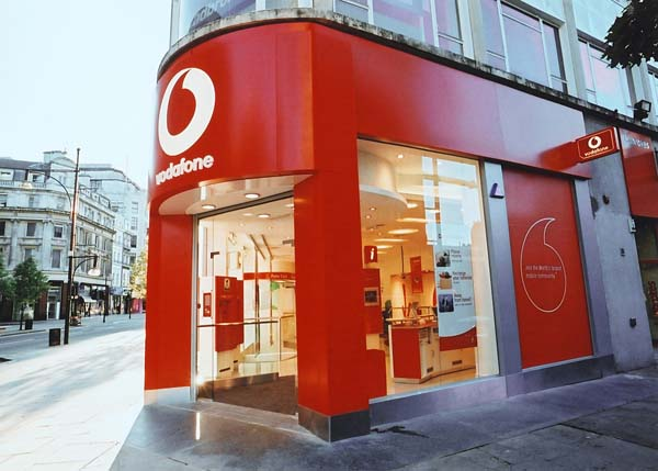 """Vodafone is UK's """"most valuable brand"""""""