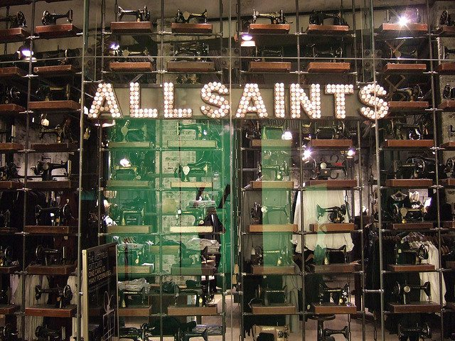 All Saints saved by private equity pair
