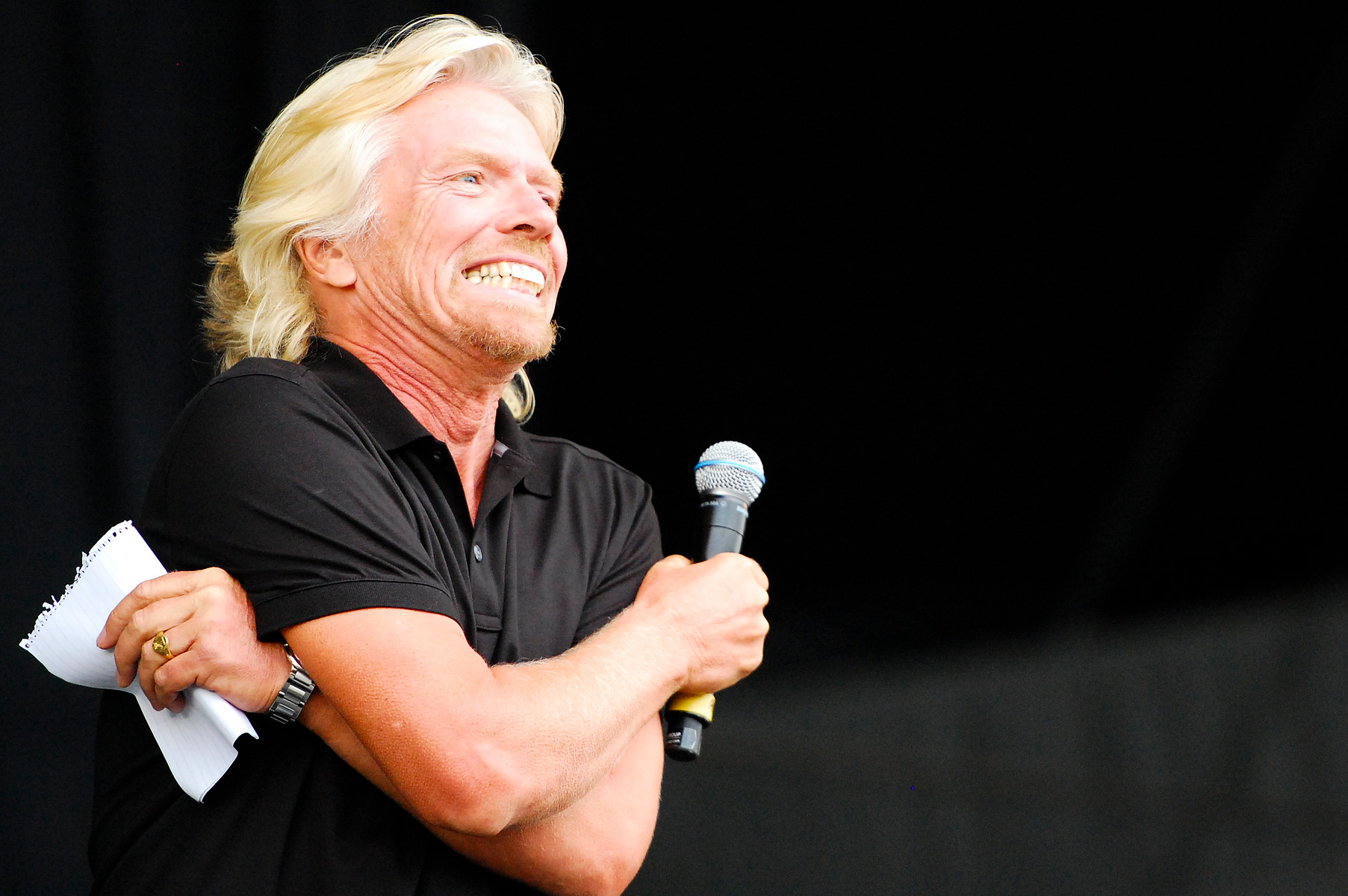 Richard Branson's top three business tips