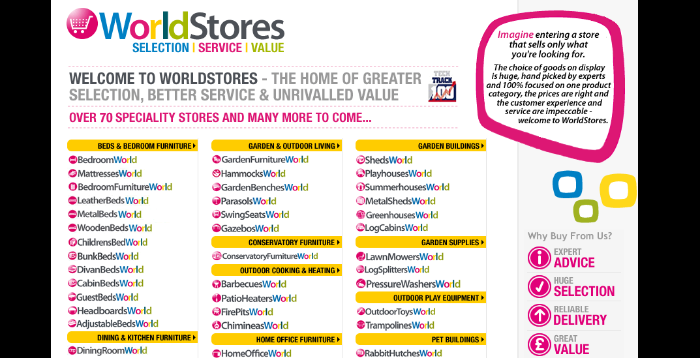 WorldStores receives ?8.5m funding
