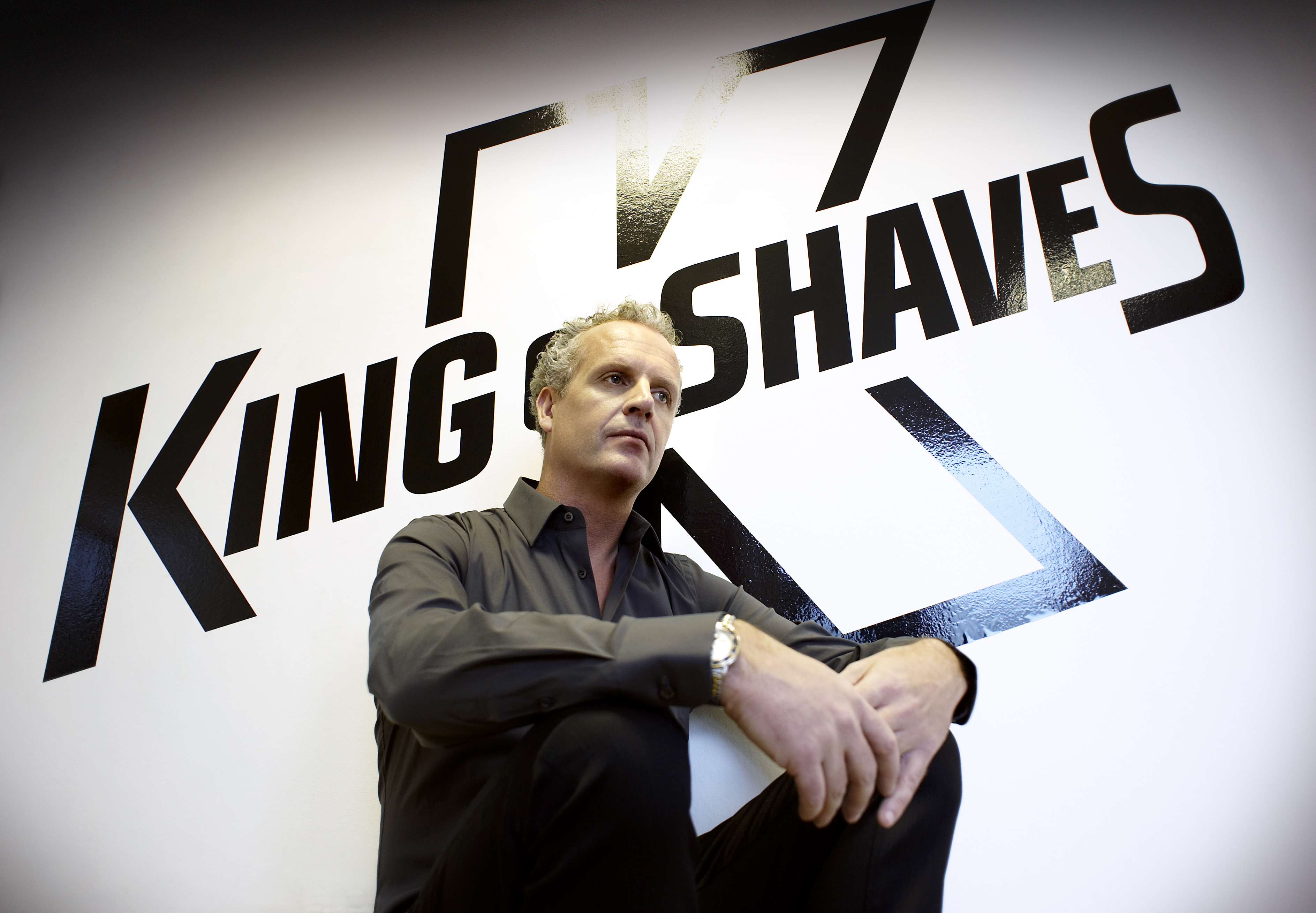 Will King looking to sell King of Shaves