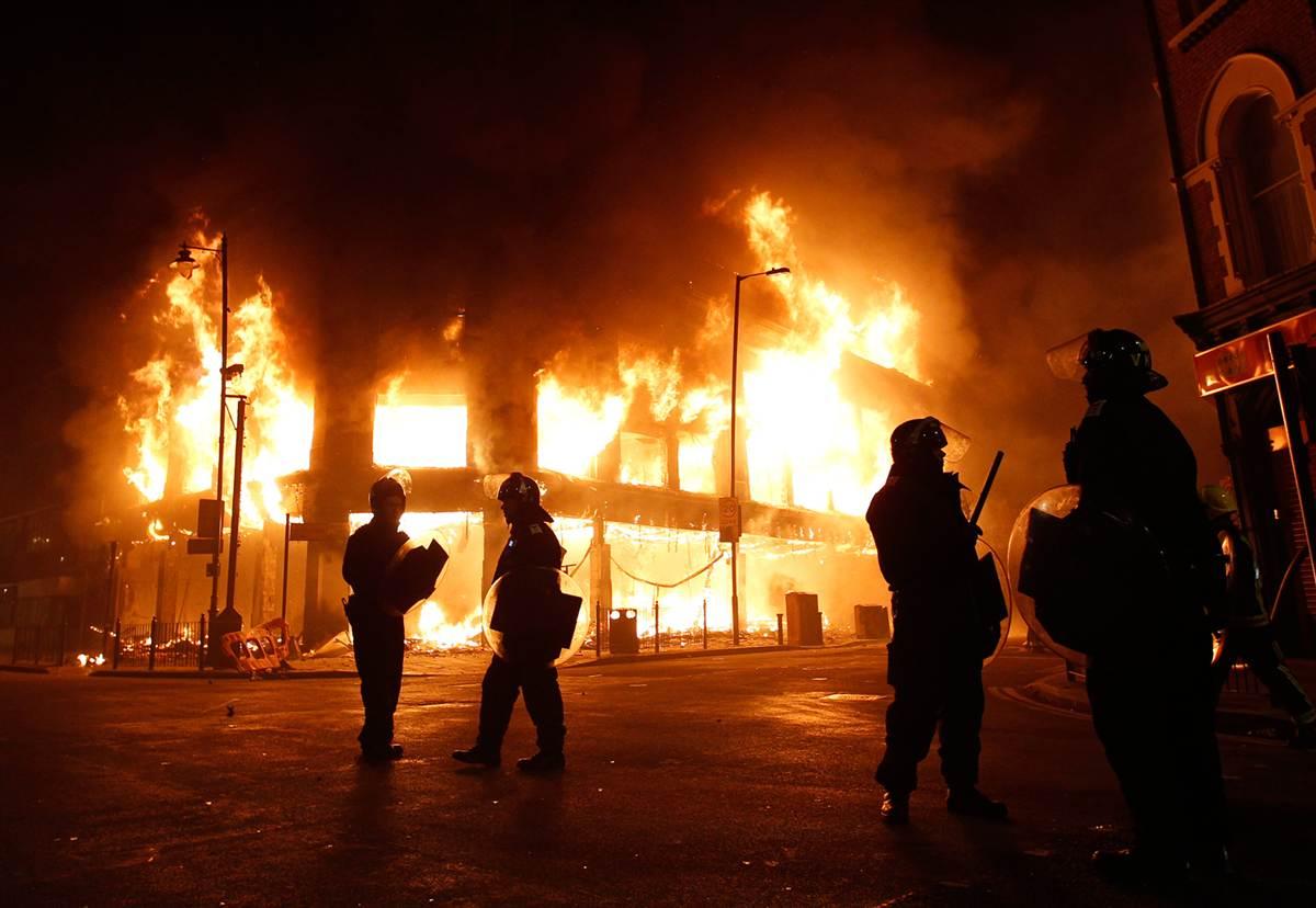"UK riots: ""We shall overcome"""