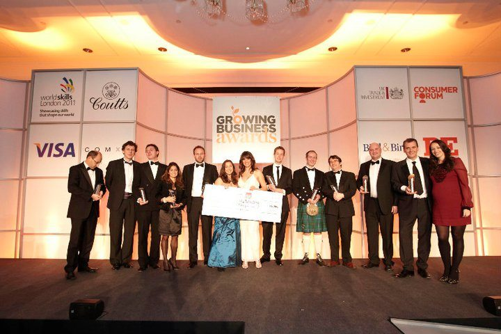 Three more judges announced for the 2011 Growing Business Awards