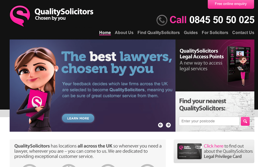 QualitySolicitors acquired by Palamon Capital
