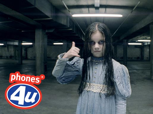 Phones 4U's Halloween ad: scarily good