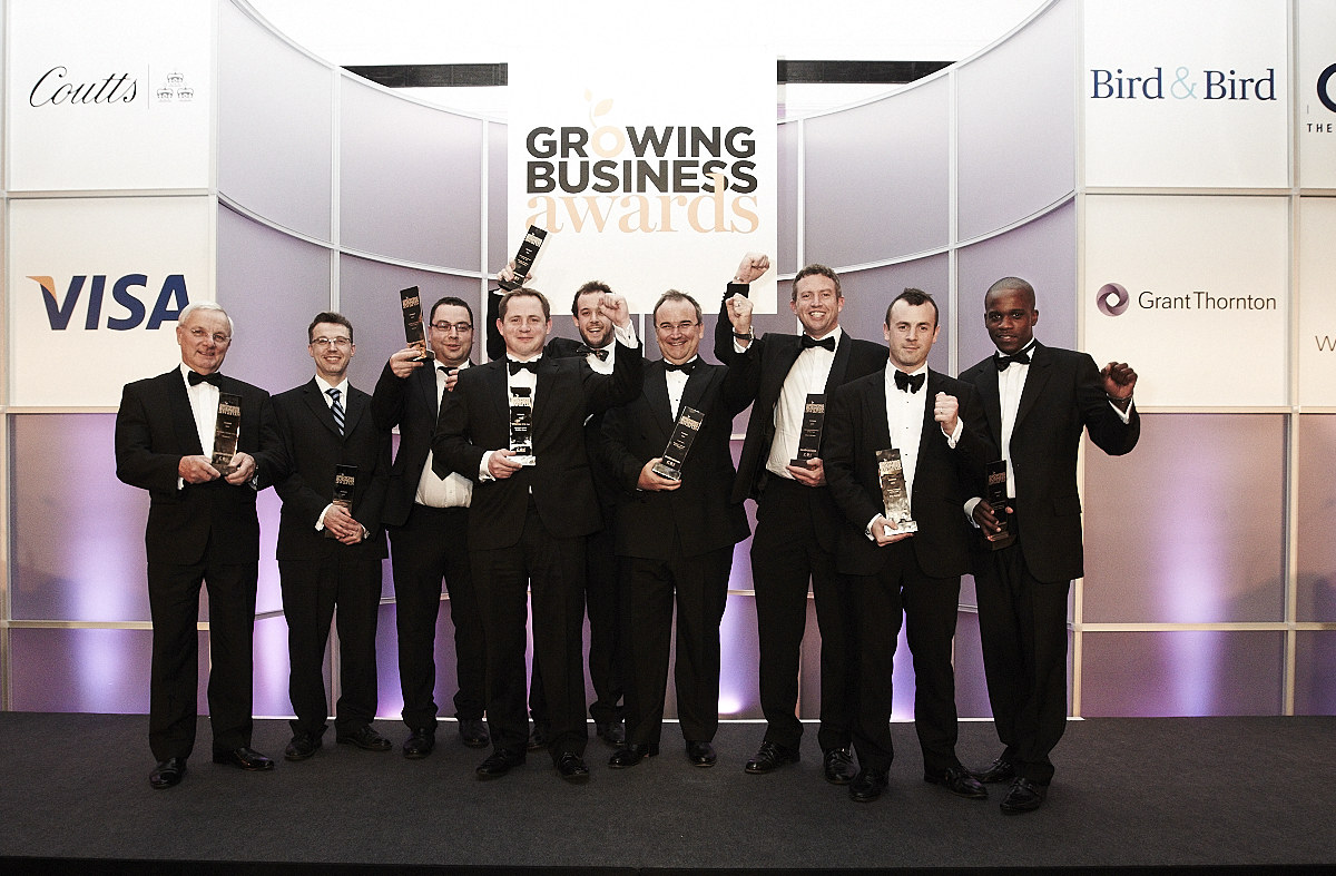 Growing Business Awards 2011: winners revealed