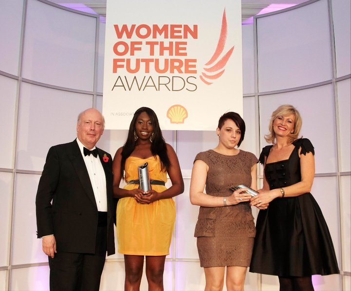 Britain's Women of the Future are being celebrated tonight