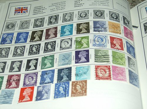 Alternative investments: stamps