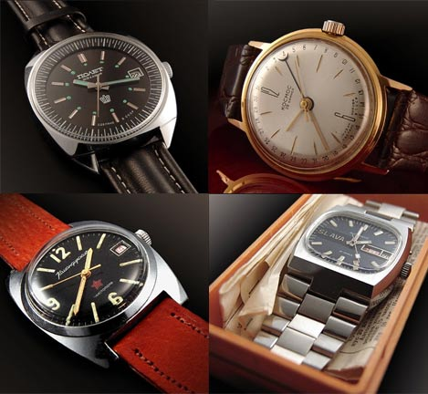 Alternative investments: vintage watches