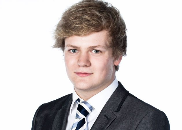 My 2012: Young Apprentice's Harry Maxwell