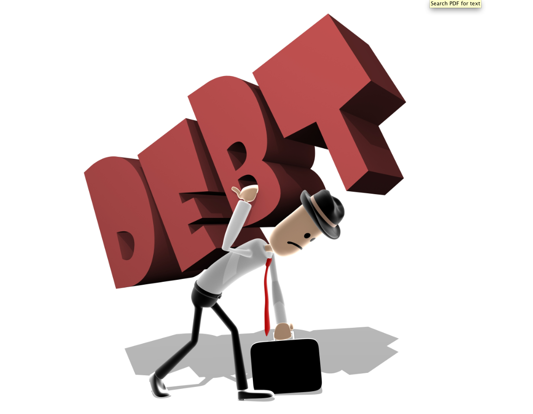 Don't finance your business with debt
