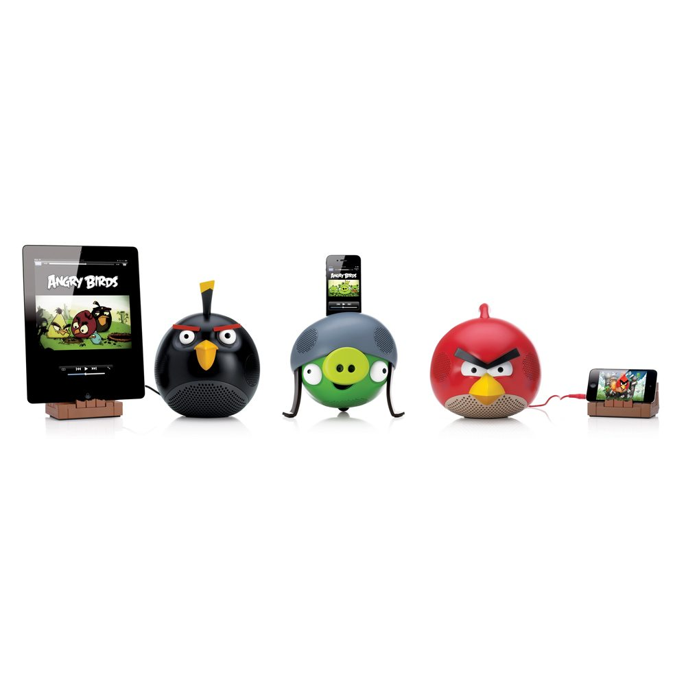 Best gadgets of 2012: Angry Birds speakers