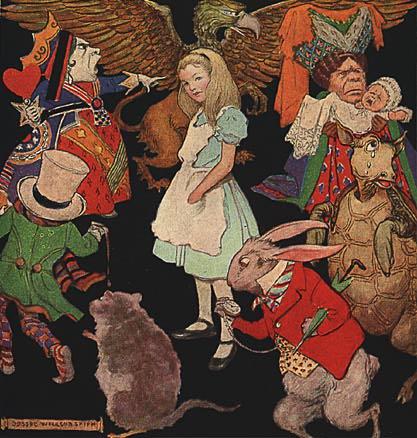 Alice in our 21st-century Wonderland