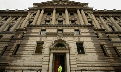 Q: What do the UK Treasury and call centres have in common?