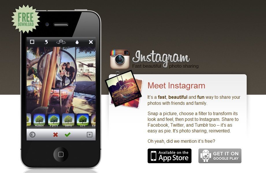 Facebook buys profitless photo app Instagram for $1bn