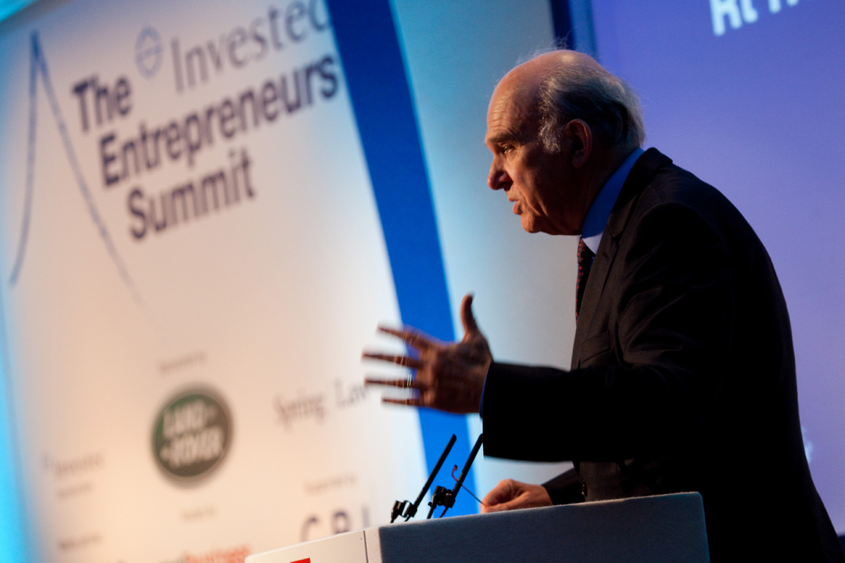 Vince Cable confident in Italy's future