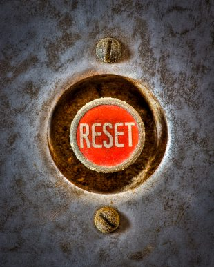 Now would be a good time to reset both our rules and our values