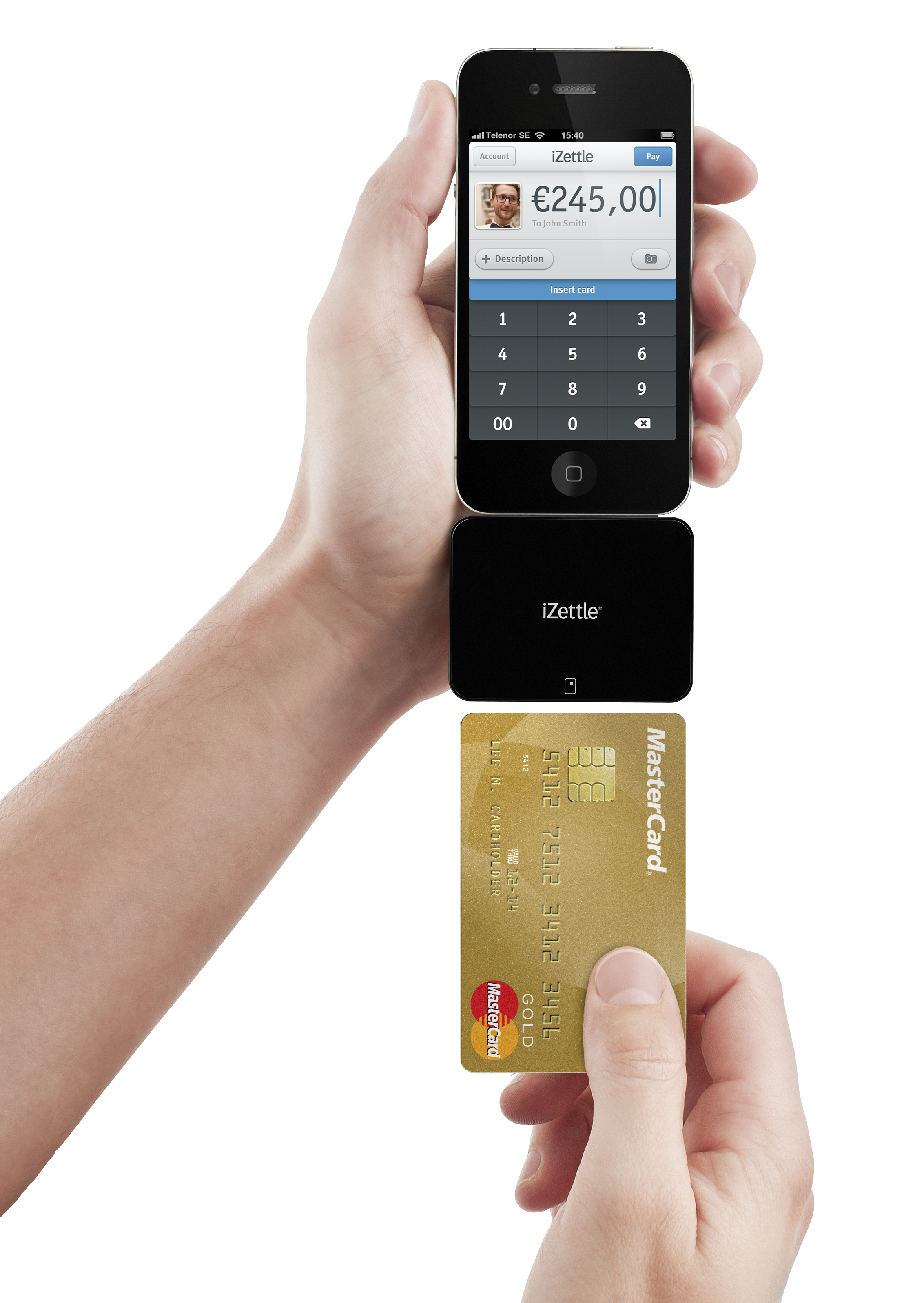 iZettle launches in UK, making it easy to take cards