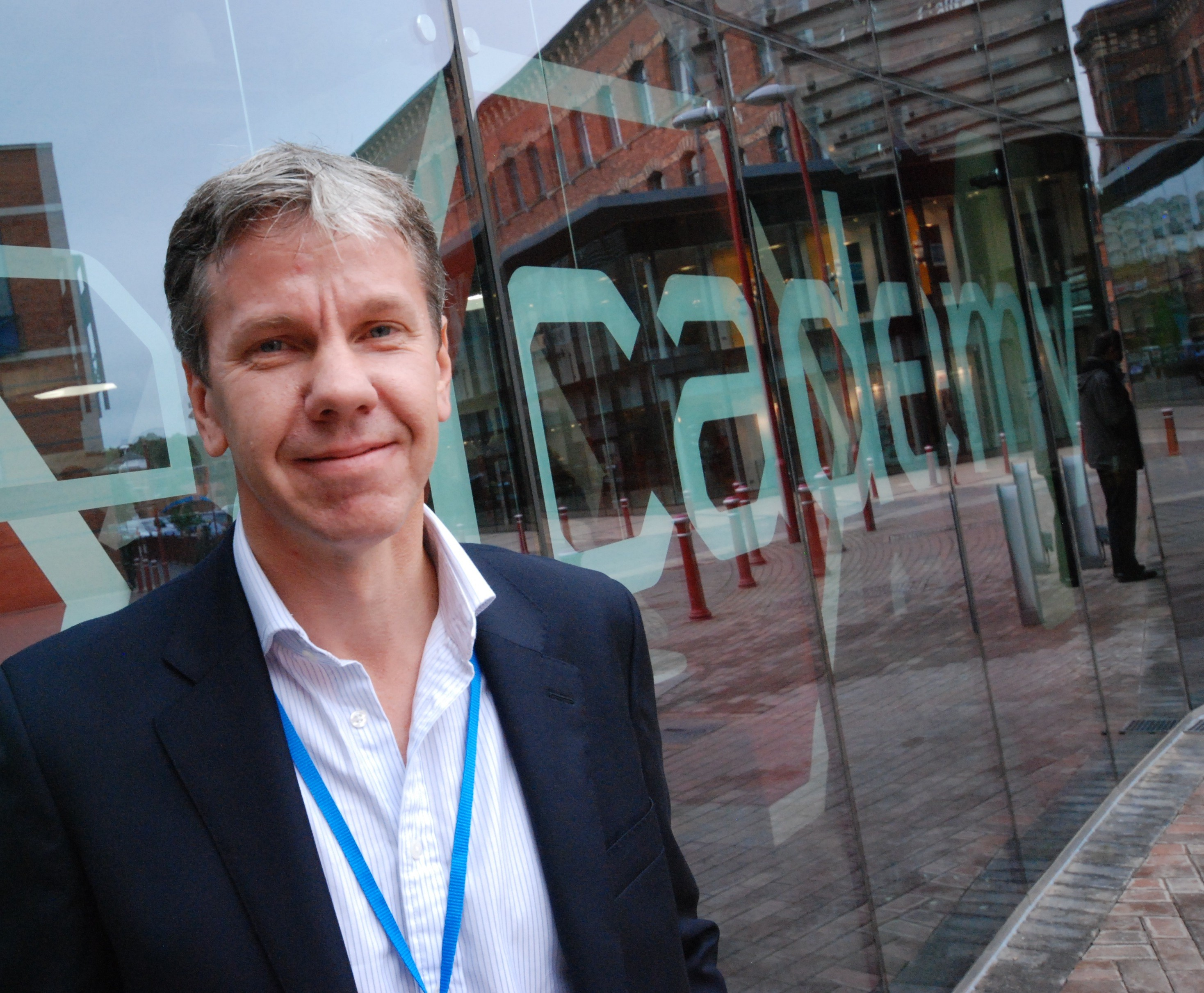 Ian Watts on encouraging people from all walks of life to start new business