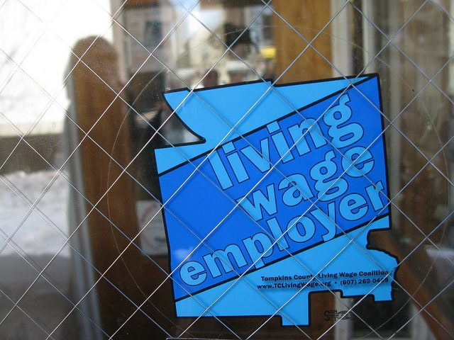 The problem with the Living Wage