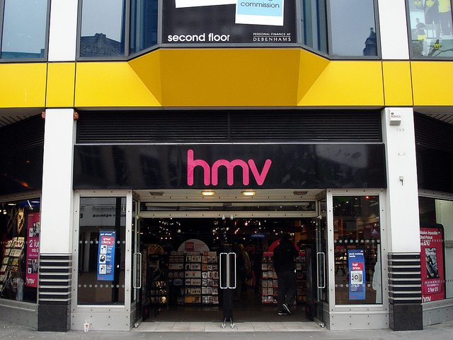 Was HMV the first victim of showrooming?