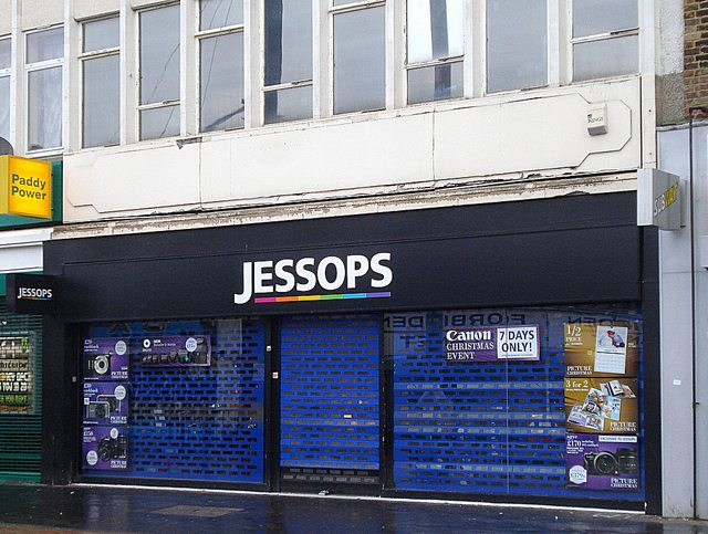 The internet killed Jessops
