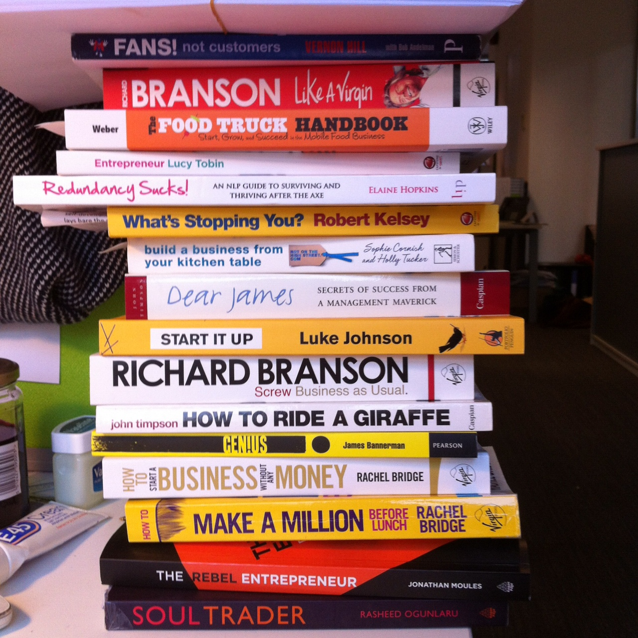 Starting your own business: The best books