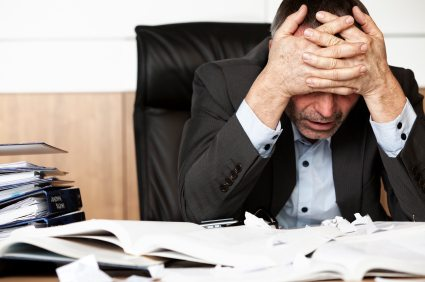 Why business leaders are a cause of stress (and don't notice it)