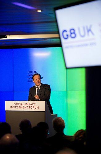 Cameron plans to make London the hub of social finance