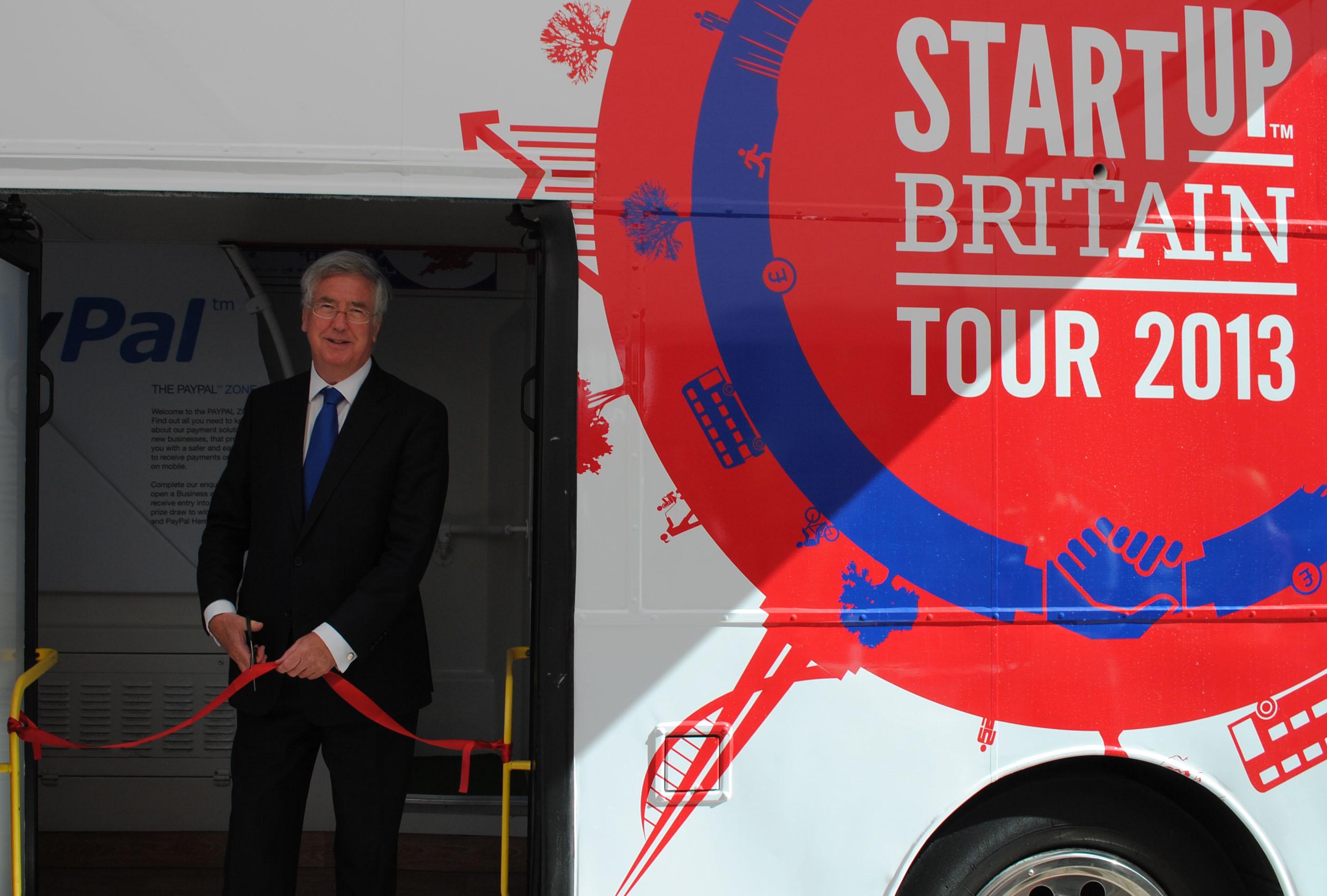 Jump aboard StartUp Britain?s tour bus