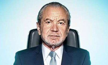 Need to build a star team? Copy Lord Sugar
