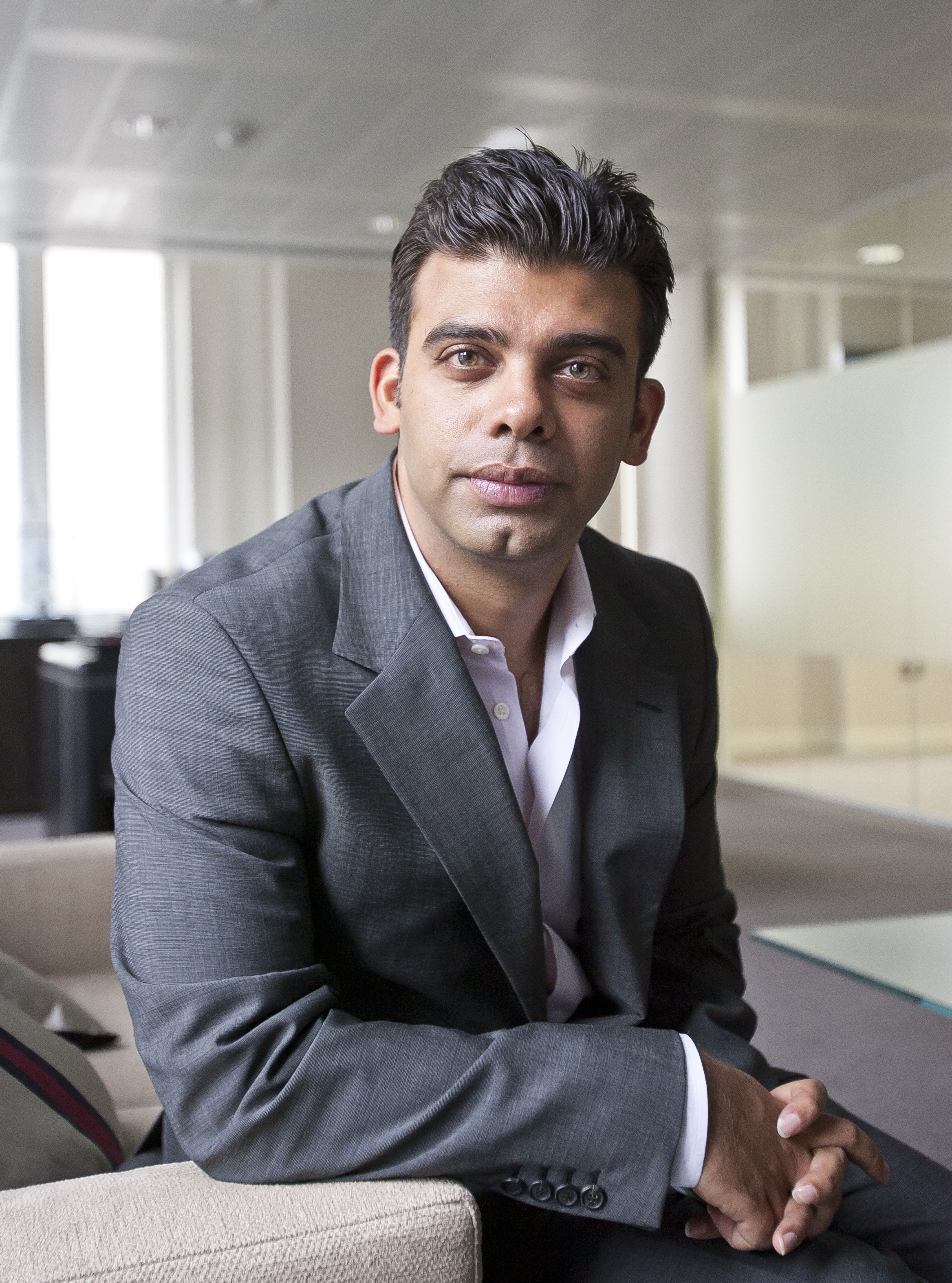 """Amit Bhatia: """"I have an immense amount of faith in the UK economy"""""""